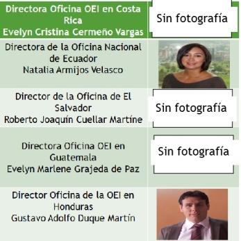 Ministros oficinas OEI