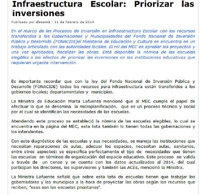 Paraguay infraestructura